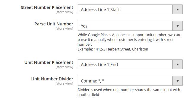 magento 2 address lookup