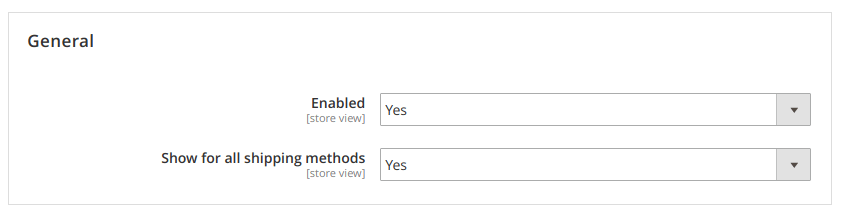 magento 2 deleivery date settings
