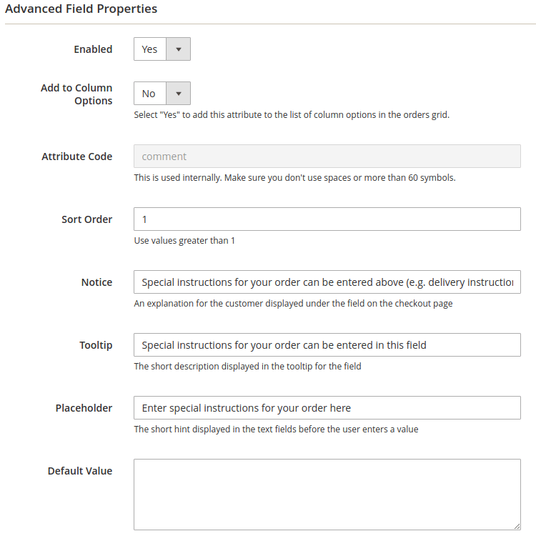 magento 2 checkout fields tooltips