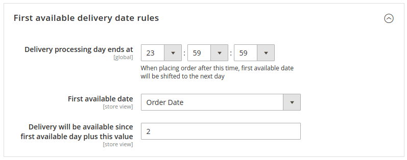 magento add delivery date to checkout