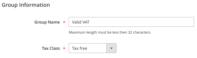 magento 2 tax rules