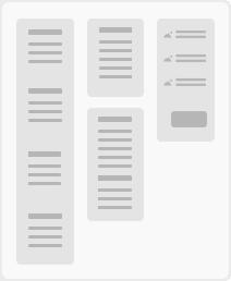 3 columns layout